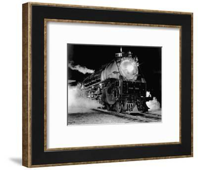 Union Pacific Locomotive--Framed Photographic Print