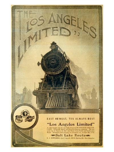 Union Pacific, Los Angeles Locomotive--Giclee Print