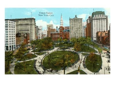 Union Square, New York City--Art Print