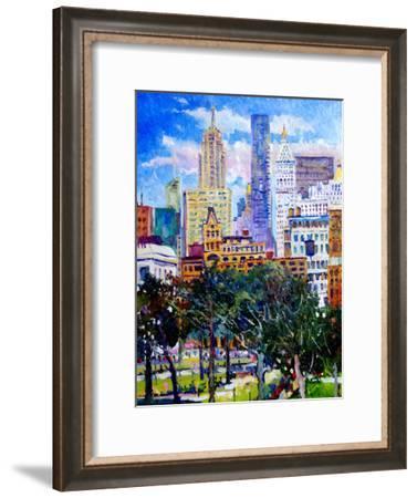 Union Square New York-Suren Nersisyan-Framed Art Print