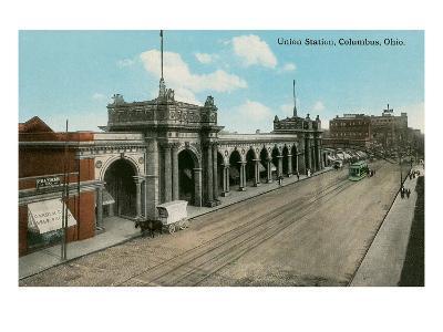 Union Station, Columbus, Ohio--Art Print