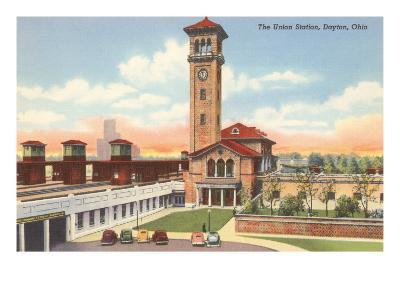 Union Station, Dayton, Ohio--Art Print