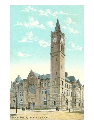 Union Station, Indianapolis, Indiana--Art Print