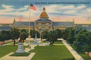 Union Station, Showing Patrick Walsh in Foreground, 1943