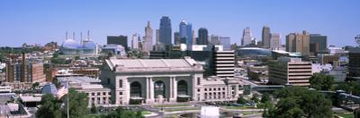Union Station with City Skyline in Background, Kansas City, Missouri, USA 2012