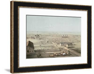 Union Stockyards, Chicago--Framed Giclee Print