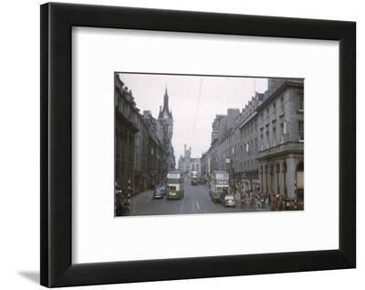 Union Street, Aberdeen, Scotland, c1960s-CM Dixon-Framed Photographic Print