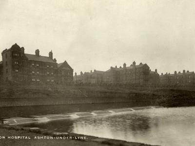 Union Workhouse Hospital, Ashton under Lyne, Lancashire-Peter Higginbotham-Photographic Print