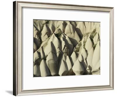 Unique Hills and Rock Formations Often Used for Housing in Cappadocia-Klaus Nigge-Framed Photographic Print