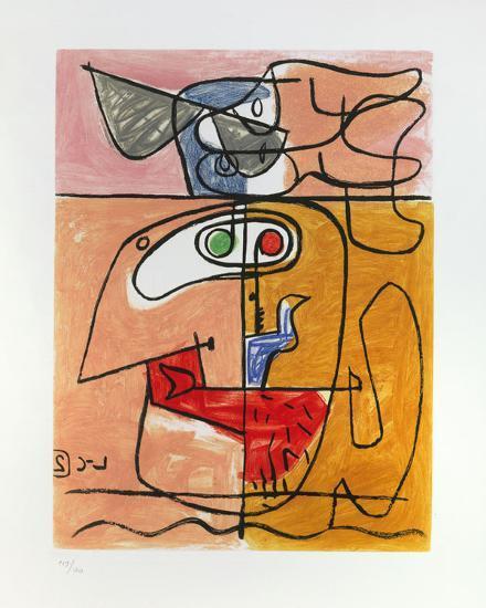 Unité, 1965-Le Corbusier-Art Print
