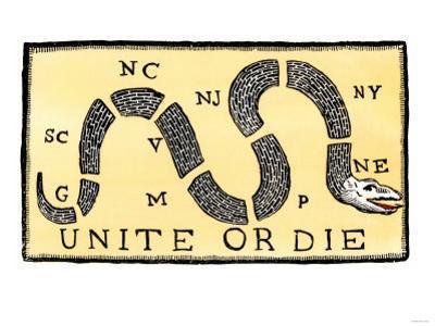 Unite or Die, c.1750