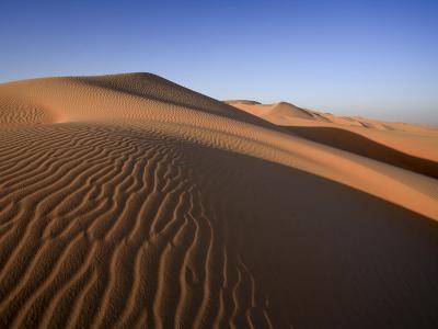 United Arab Emirates, Liwa Oasis, Sand Dunes Near the Empty Quarter Desert-Michele Falzone-Photographic Print