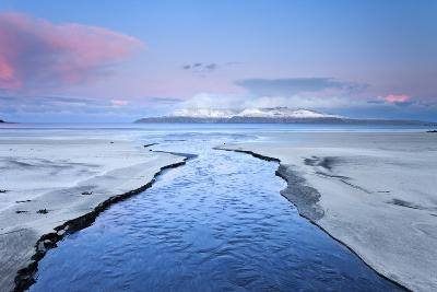 United Kingdom, Uk, Scotland, Highlands, Blue Dawn at Eigg Island-Fortunato Gatto-Photographic Print