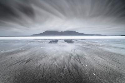 United Kingdom, Uk, Scotland, Highlands, Eigg Island, a Storm Approaching on Laig Bay-Fortunato Gatto-Photographic Print