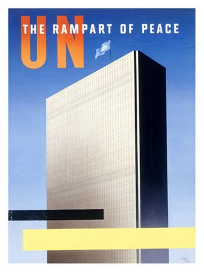 United Nations, The Rampart of Peace--Giclee Print