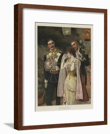 United Service-William Small-Framed Giclee Print