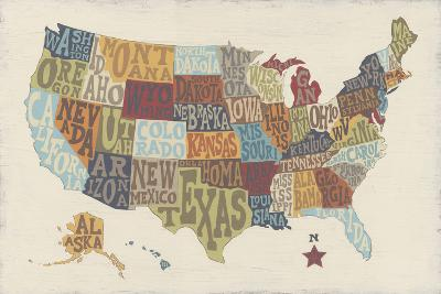 United State Signs-Erica J^ Vess-Art Print