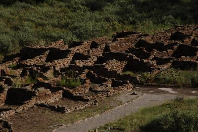 United States. Bandelier National Monument, Tyuonyi, Pueblo Indian Settlement--Giclee Print