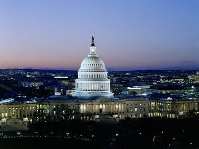 United States Capitol Building - Houses of Congress-Carol Highsmith-Photo