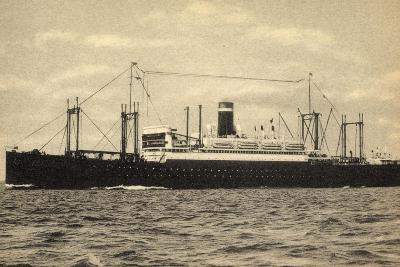 United States Lines, USL, S.S. President Roosevelt--Giclee Print