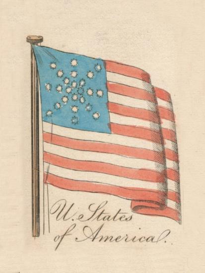 'United States of America', 1838-Unknown-Giclee Print