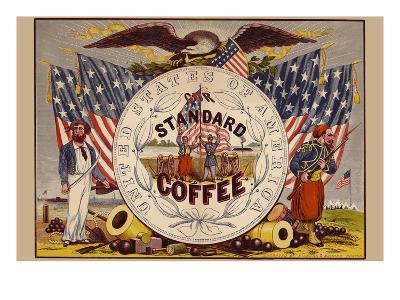 United States of America, Our Standard Coffee-A^ Holland-Art Print