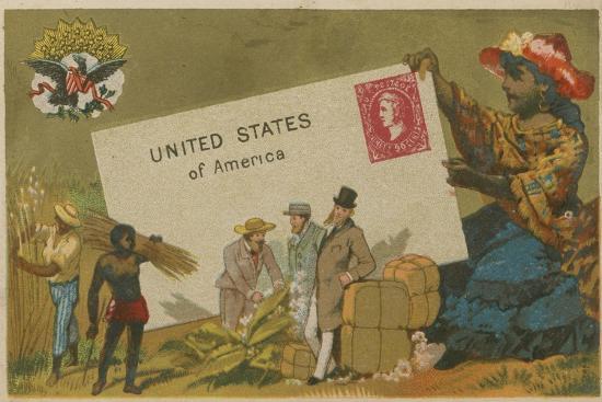 United States of America--Giclee Print