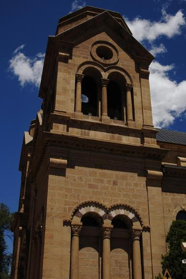 United States, Santa Fe, Cathedral of Saint Francis of Assisi, 19th Century--Giclee Print
