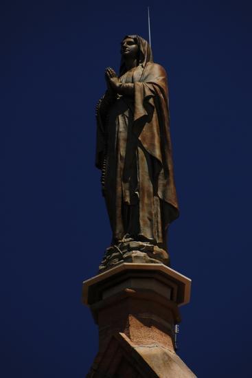 United States, Santa Fe, Loretto Chapel, Statue of Virgin Mary--Giclee Print