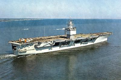 United States Ship Enterprise CVA(N) 65 Ca. 1961--Giclee Print