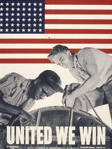 United We Win, US Propaganda Poster