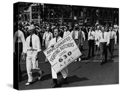 Units of the American Federation of Labor Marching in the Labor Day Parade
