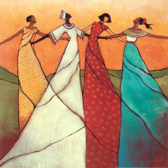 Unity-Monica Stewart-Art Print