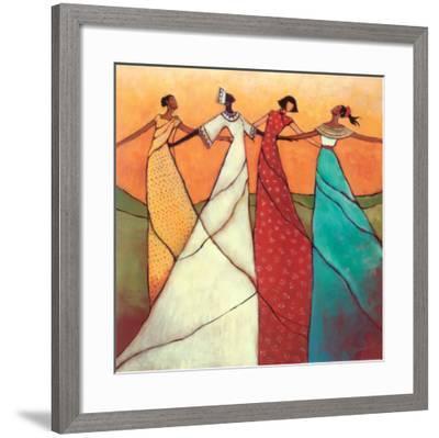 Unity-Monica Stewart-Framed Art Print