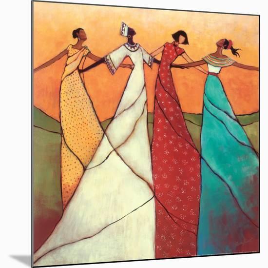 Unity-Monica Stewart-Mounted Art Print