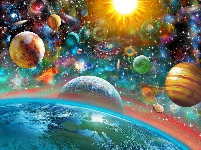 Universal Splendor-Adrian Chesterman-Art Print