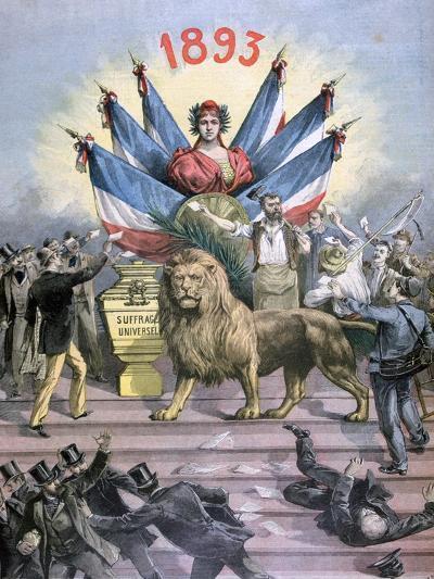 Universal Suffrage, 1893-Henri Meyer-Giclee Print