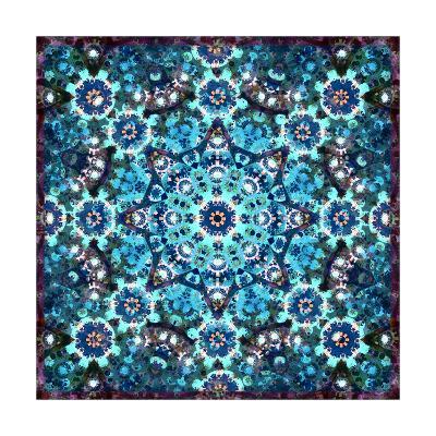 Universe Blue I-Alaya Gadeh-Art Print