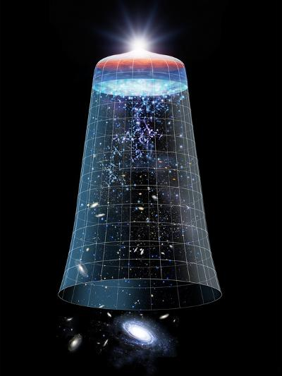 Universe Timeline, Artwork-Detlev Van Ravenswaay-Photographic Print