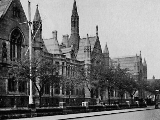 'University College, Nottingham', 1904-Unknown-Photographic Print
