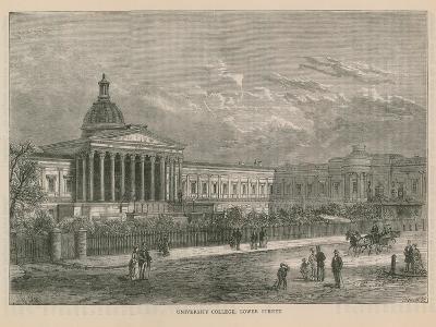 University College on Gower Street--Giclee Print