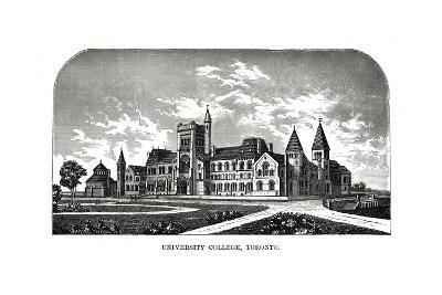 University College, Toronto, Canada, 19th Century-Tilton Waters-Giclee Print