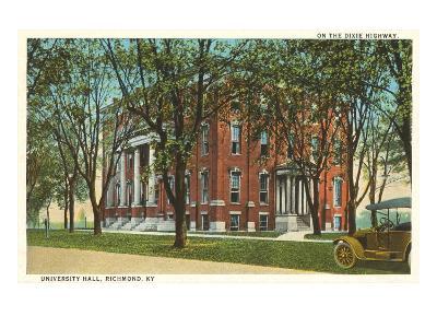 University Hall, Richmond, Kentucky--Art Print