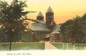 University Library, Ann Arbor, Michigan