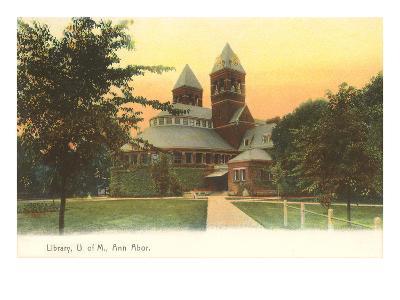 University Library, Ann Arbor, Michigan--Art Print