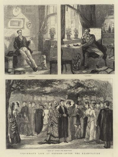 University Life at Oxford, after the Examination--Giclee Print