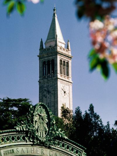 University of California, the Campanile, Alamada County, Berkeley, California-John Elk III-Photographic Print