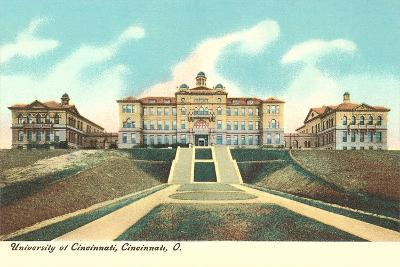University of Cincinnati--Art Print