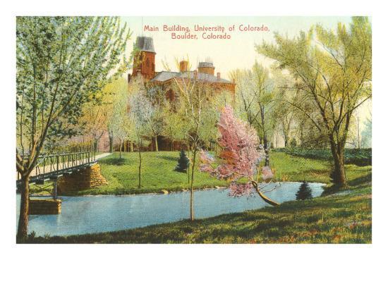 University of Colorado, Boulder--Art Print