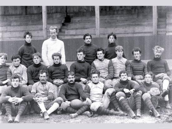 University of Pennsylvania Football Team, Philadelphia, Pennsylvania--Photo